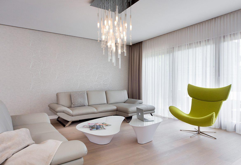jasnozielony fotel