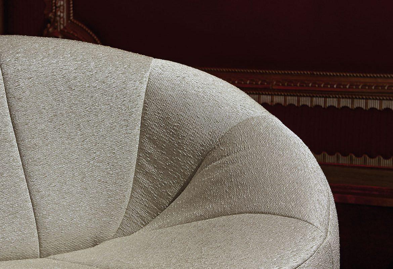 fotel muszla